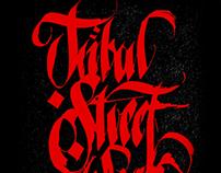 Fan Art / Tribal Calligraphy