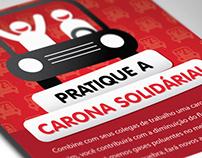 Campanha Carona Solidária