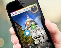 Tagomo mobile app UI