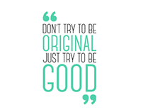 Just be Good