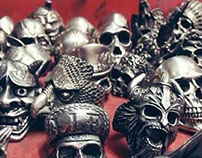 Fourspeed Metalwerks Skull Rings Collection Part Three