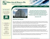 Ribis, Jones, & Maresca, P.A. - Website, Logo update