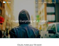 Clouds - Multi-Purpose Adobe Muse Template