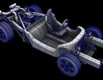 McLaren mp4-12c 3D Modeling