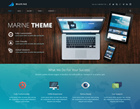 Marine Theme - Alternative Homepage