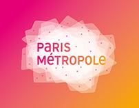 Paris Métropole Brand Identity