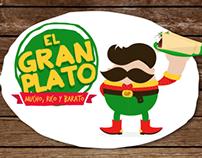 El gran plato · Branding