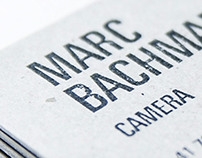 Corporate Identity for a director of photography