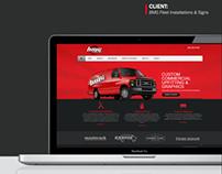 BMG Fleet Installations & Signs - Website Design