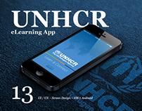 UNHCR Learn & Connect iOS + Android App ~ Equeo