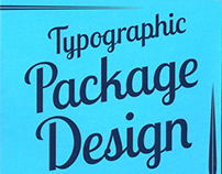 Typographic Package Design Book