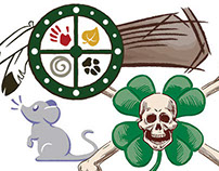 Illustrated Logo Designs