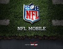 NFL Mobile from Verizon - Design Comp