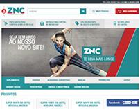 ZNC Suplementos - E-commerce