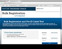 Bulk Registration