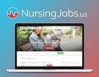 NursingJobs.us / Website Redesign