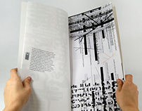 Blue Heron Typography Book