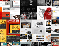 Collage of my Branding projects
