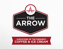 The Arrow | Coffee shop branding