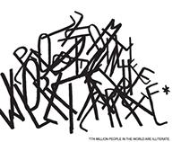 Illiteracy - poster