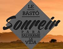 Afiches tipográficos de Salta La Banca