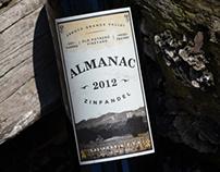 Almanac 2012 Zinfandel Wine