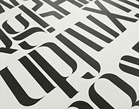 空 Kong Typeface