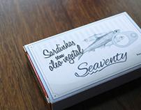 Cartões de visita e brinde Seaventy