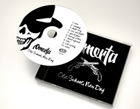 Omerta HC Album Cover & Booklet