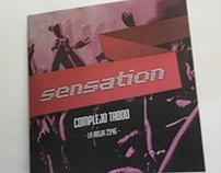 SENSATION - flyers, tickets and facebook cover
