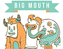 Bigmouth name card