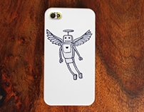 Angelbot iPhone case