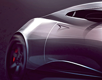 Automotive Sketch and Render Collection (Photoshop)