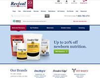 Revival Animal Health Website