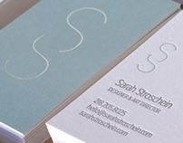 Sarah Stroschein Branding & Business Cards