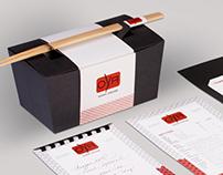 OYA Sushi re-brand and identity system