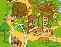 Hunter-Gatherer Theme Park and Minoans & Mycenaeans