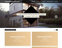 Werner Bussinger Architektur Website