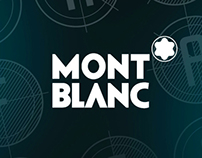 """""""The Beauty Of A Second"""" Typeface for Mont Blanc"""