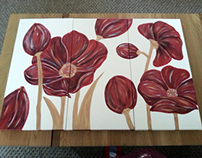 Painting for Mum's Bedroom