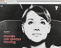 Sony 4K campaign microsite for independent cinemas