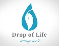 Drop of Life Branding and Web design.