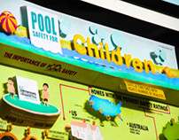 3d Infographic for pool safety