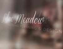 Lilac Meadow Wedding Planning Logo/Stationary