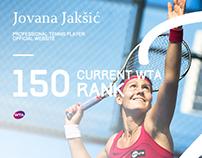 Jovana Jakšić - Serbian tennis player