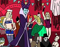 Halloween Drag Party
