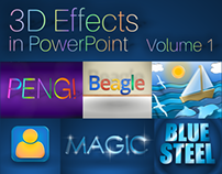 3D Effects in PowerPoint (Volume 1)