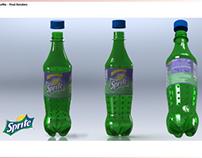 Sprite Bottle CAD Modelling