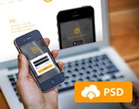 Responsive Mockup Templates / Free PSD