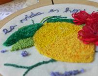 LEMON (Magic Needle Embroidery)